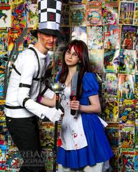 SLC Comic Con April 2014_ MADNESS RETURNS (4) by Dazecase