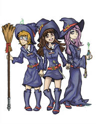 Little Witch Academia_ WIP by Dazecase