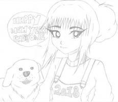 Shia Tanaka Happy New Year by xwx101