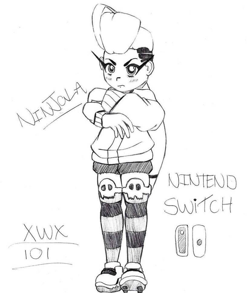 Ninjala For Nintendo Switch!!! by xwx101