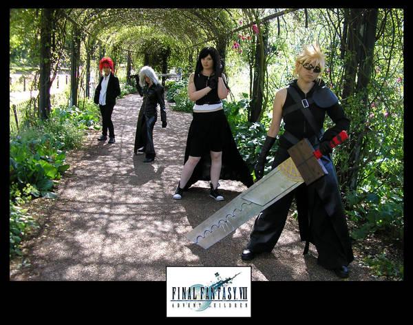Final Fantasy-Advent Children by KellyJane