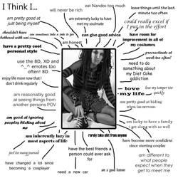 I Think I... by KellyJane