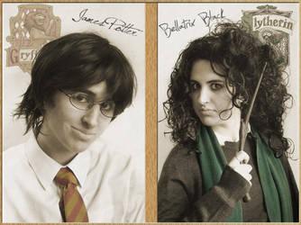 James and Bellatrix by KellyJane