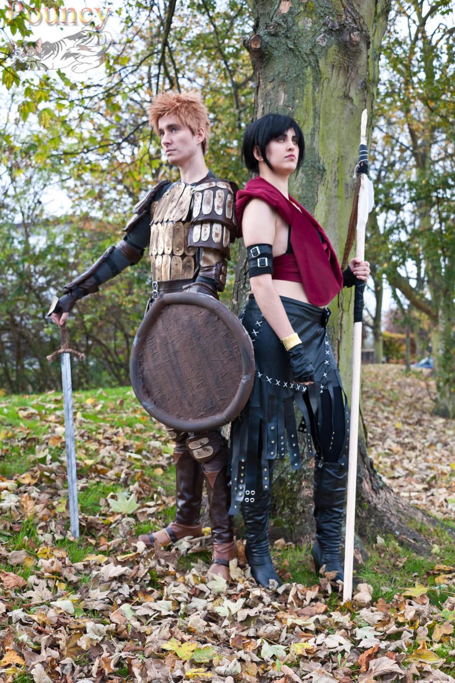 DA:O - Alistair and Morrigan by KellyJane