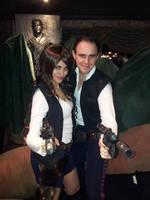 Han and Hana Solo by KellyJane