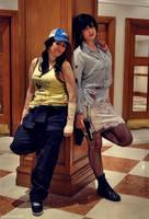 L4D2 - Ellie and Nicola by KellyJane
