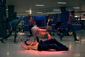 L4D2 - Ellis has startled the witch by KellyJane