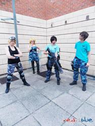 RvB - Blue Team by KellyJane