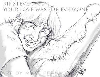 RIP Steve by Steve-Irwin-Tribute