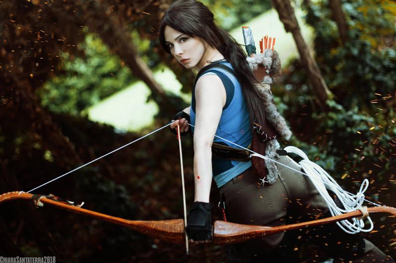 Lara Croft - Shadow Of The Tomb Raider - 01 by k-MorrigaN