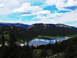 Hidden Lake by satsui