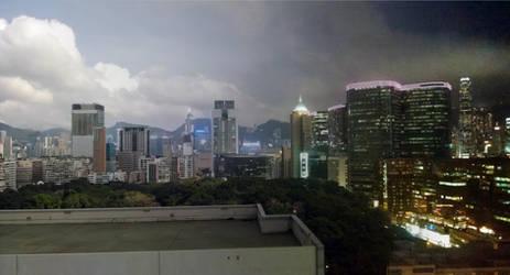 Hong Kong Transition by satsui