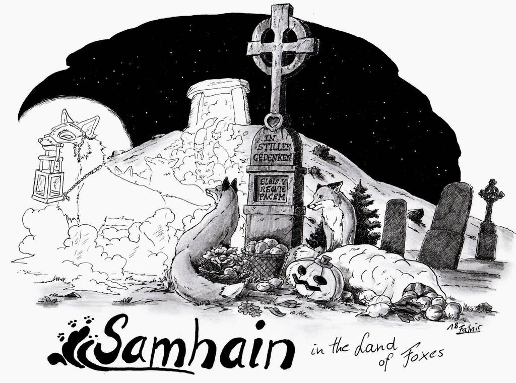 samhain in the land of foxes by MachaetFafnir