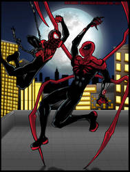 Spiderman legacy: the ultimate vs the superior! by ultimatejulio