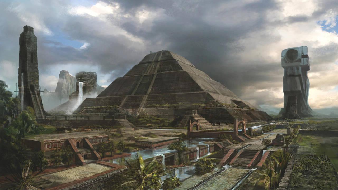 Mayan Civilization by boosoohoo