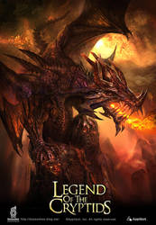 Legend of the cryptids illustration by boosoohoo