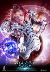 Galaxy saga illustration by boosoohoo