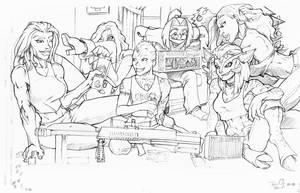 Feb 12 Bonus Art by DaveBarrack