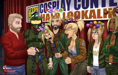 Halo Lookalike Contest by DaveBarrack