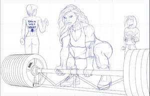 Deadlift Pencils by DaveBarrack