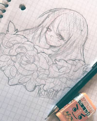 flower girl by xesthetiic