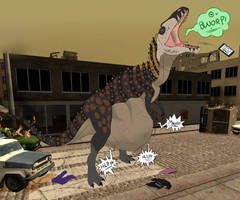 Im A Modaf***ing T-rex by SentinelWinder