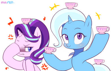Teeeea cupe~ by Marenlicious