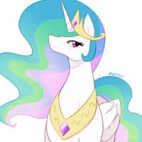 Princess Celestia by Marenlicious