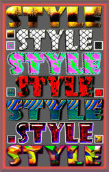 Bright styles for Photoshop by Gala3d