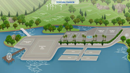(The Community Worlds Project) Ventura Harbor by filipesims