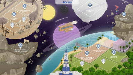 Avalon - Sims 4 Fanmade Map by filipesims