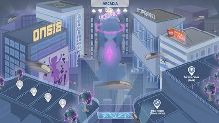 Arcadia - Sims 4 Fanmade Map by filipesims