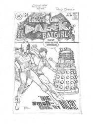 Detective Comics 385 recreation Batgirl and Dalek by PTGould