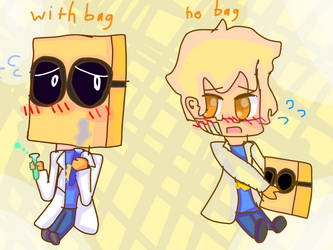 Just draw 2 smol Dr.Flug :3 by Maizy-shitarts