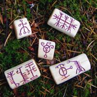Icelandic Runestaves by Lolair