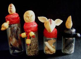 Animal Spirit Vessels by Lolair