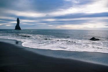 Reynisfjara Black Sand Beach by LordBurevestnik