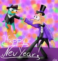 DxP - Happy New Year by Leibi97