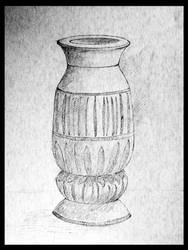 Wooden Vase by Tooblai