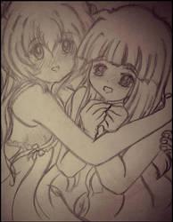 Friendship Sketch by thecreatorscreations