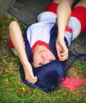 Rika Furude Wig Test by thecreatorscreations