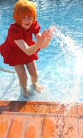Ponyo: Splish! Splash! by thecreatorscreations