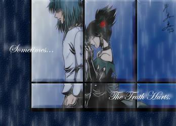 Sometimes... The Truth Hurts. by kurohiko