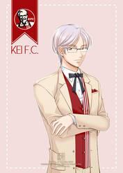 Gijinka #3: Kei F.C. (KFC) by kurohiko