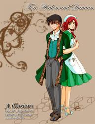 A.illusions - Tori and Danaan by kurohiko