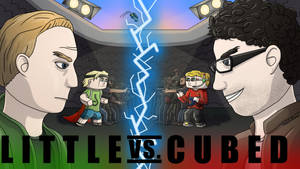 Little Vs. Cubed by HelloImRame