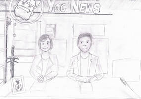 YogNews sketch by HelloImRame