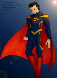 Kon-El as Superman by StolenThunder