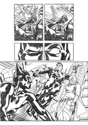 Batman Beyond page 3 by AlbertoNavajo