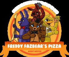 Freddy Fazbear's Pizza Logo by BoopBear